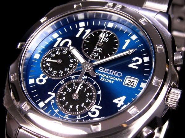 セイコー SEIKO クロノグラフ 腕時計 SND193