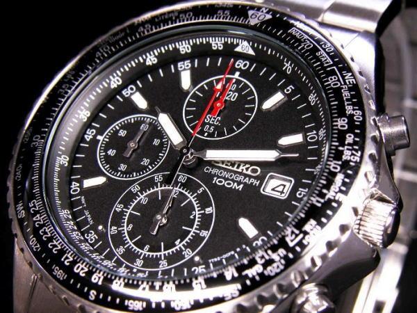セイコー SEIKO 腕時計 クロノグラフ メンズ SND253P1
