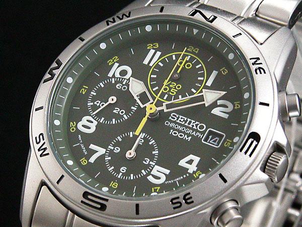 セイコー SEIKO メンズ クロノ 腕時計 SND377P