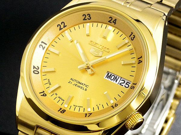 セイコー SEIKO セイコー5 SEIKO 5 自動巻き 腕時計 SNK574J1