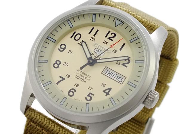 セイコー SEIKO セイコー5 スポーツ 5 SPORTS 自動巻き 腕時計 SNZG07K1