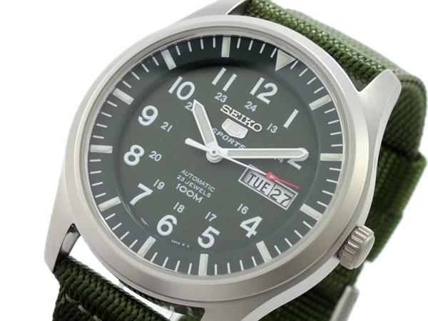 セイコー SEIKO セイコー5 スポーツ 5 SPORTS 自動巻き 腕時計 SNZG09K1