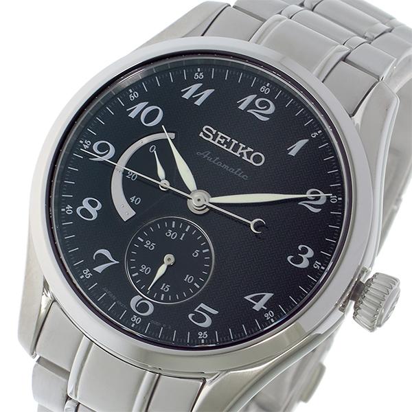 セイコー SEIKO プレサージュ PRESAGE 自動巻き メンズ 腕時計 SPB043J1 ブラック