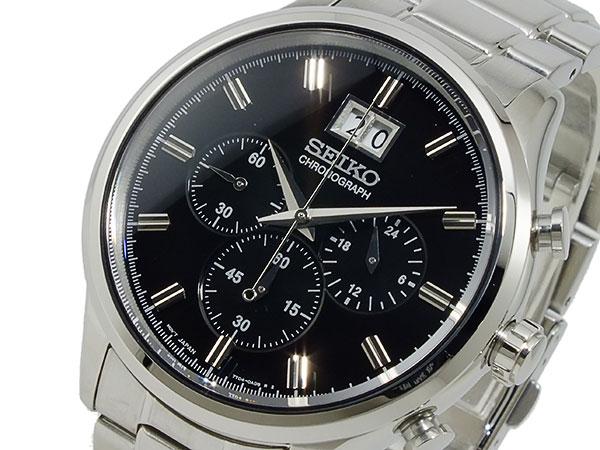 セイコー SEIKO クロノグラフ 腕時計 SPC083P1
