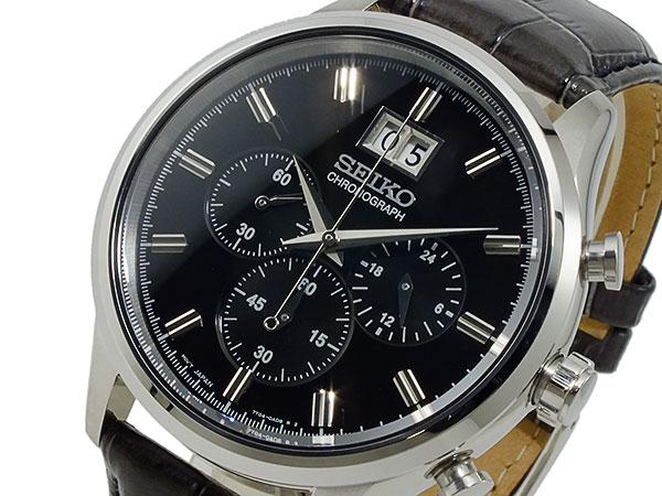 セイコー SEIKO クロノグラフ 腕時計 SPC083P2