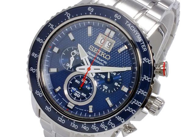 セイコー SEIKO スポーチュラ SPORTURA クオーツ メンズ クロノグラフ 腕時計 SPC135P1