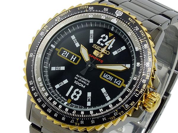 セイコー ファイブ SEIKO 5 スポーツ 自動巻き 腕時計 SRP356J1