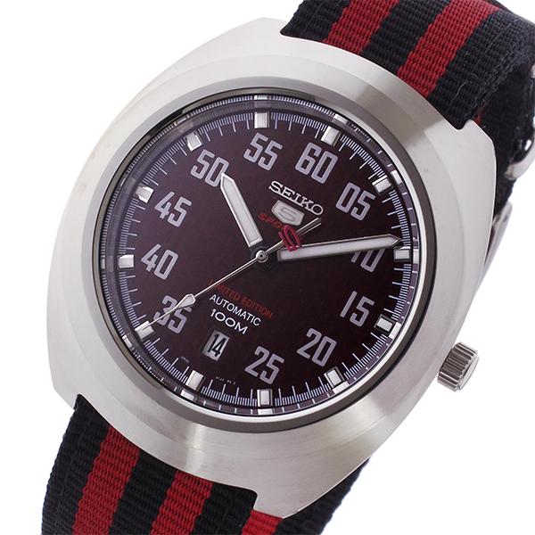 セイコー SEIKO メンズ SPORTS セイコー5 スポーツ 5 腕時計 SPORTS 自動巻き メンズ 腕時計 SRPA87K1 レッド/ブラック, 松島町:cab7d445 --- kutter.pl