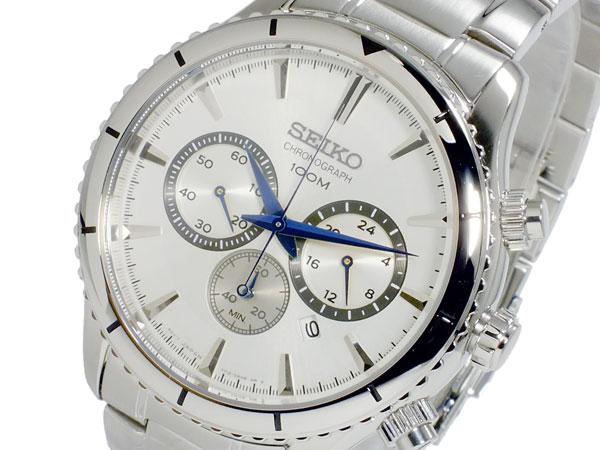 セイコー SEIKO クオーツ メンズ クロノグラフ 腕時計 SRW033P1
