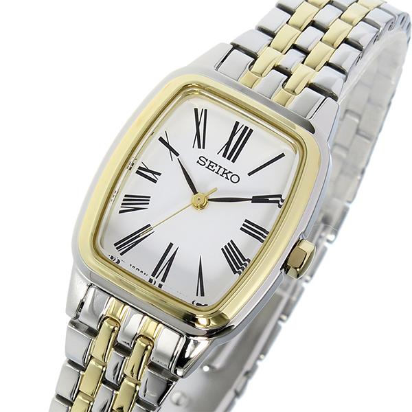 セイコー SEIKO クオーツ レディース 腕時計 SRZ476P1 ホワイト