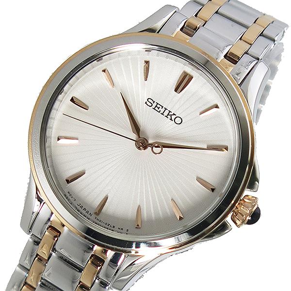 セイコー SEIKO クオーツ レディース 腕時計 SRZ492P1 ホワイト