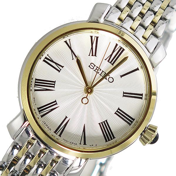 セイコー SEIKO クオーツ レディース 腕時計 SRZ496P1 ホワイト
