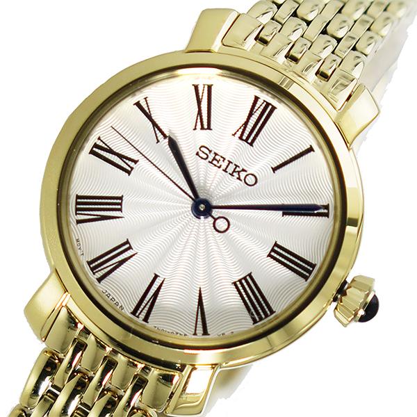 セイコー SEIKO クオーツ レディース 腕時計 SRZ498P1 ホワイト
