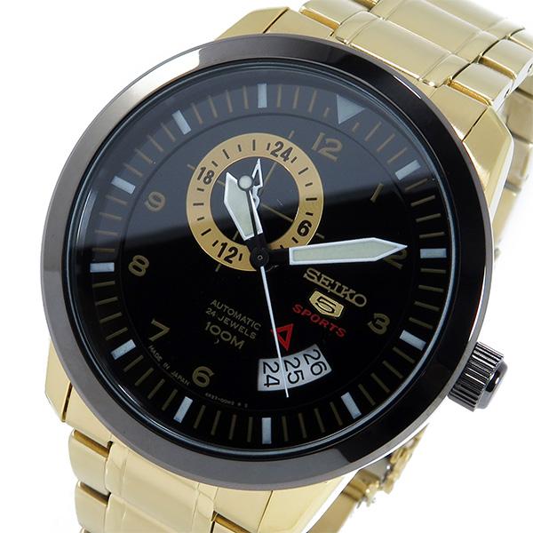 セイコー セイコー5 スポーツ 自動巻き メンズ 腕時計 SSA210J1 ブラック
