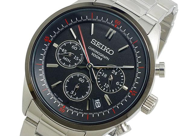 セイコー SEIKO クオーツ メンズ クロノ 腕時計 SSB063P1