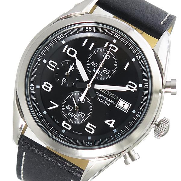 セイコー SEIKO クオーツ メンズ 腕時計 SSB271P1 ブラック