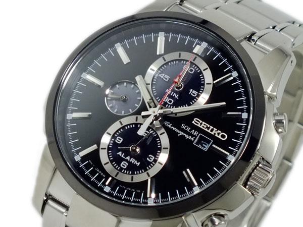セイコー SEIKO ソーラー SOLAR クロノグラフ 腕時計 SSC087P1