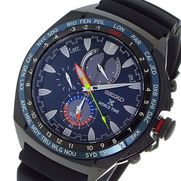 セイコー SEIKO プロスペックス PROSPEX クオーツ メンズ 腕時計 SSC551P1 ブルー