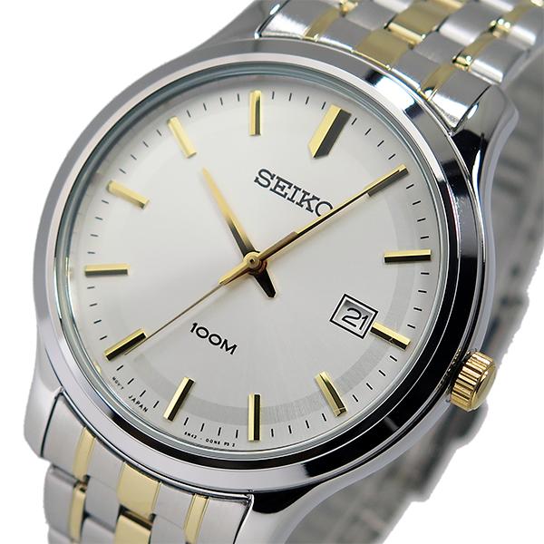 セイコー SEIKO クオーツ メンズ 腕時計 SUR147P1 シルバー/ゴールド