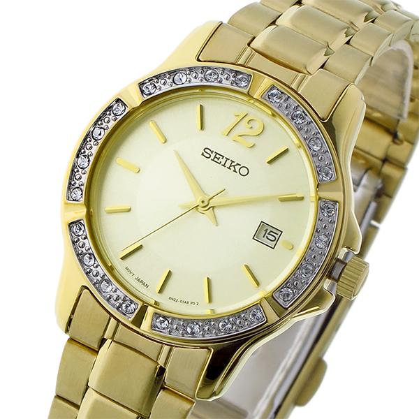 セイコー SEIKO クオーツ レディース 腕時計 SUR714P1 ゴールド