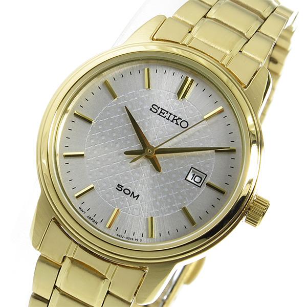 セイコー SEIKO クオーツ レディース 腕時計 SUR744P1 シルバー