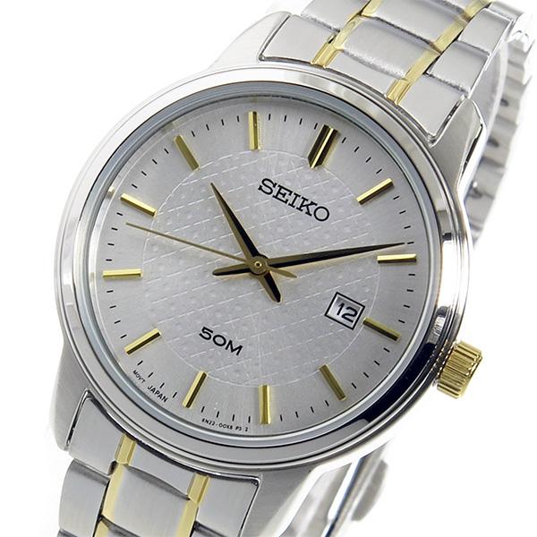 セイコー SEIKO クオーツ レディース 腕時計 SUR745P1 シルバー