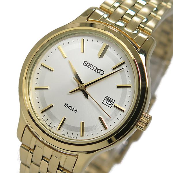 セイコー SEIKO クオーツ レディース 腕時計 SUR792P1 シルバー