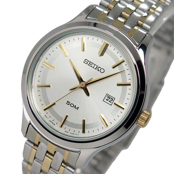 セイコー SEIKO クオーツ レディース 腕時計 SUR793P1 シルバー