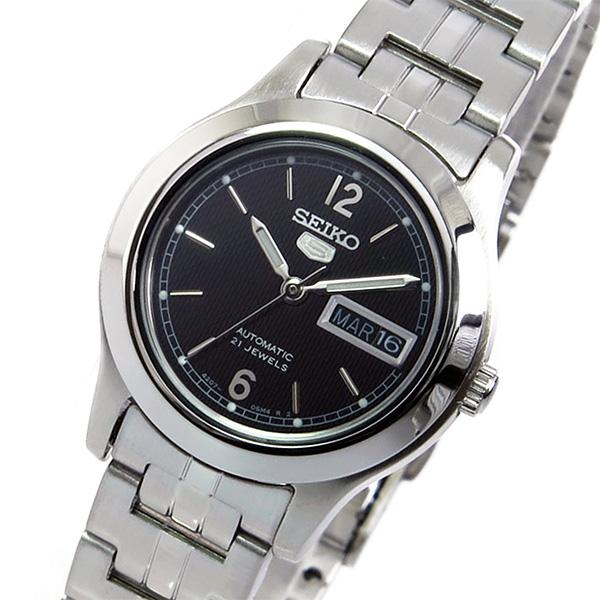 セイコー SEIKO セイコーファイブ 自動巻き レディース 腕時計 SYMD99K1 ブラック