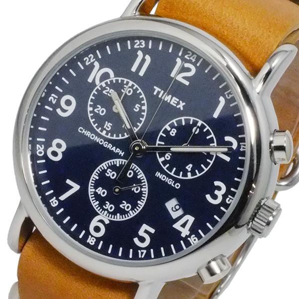タイメックス ウィークエンダ― クロノ 腕時計 TW2P62300 ネイビー 国内正規