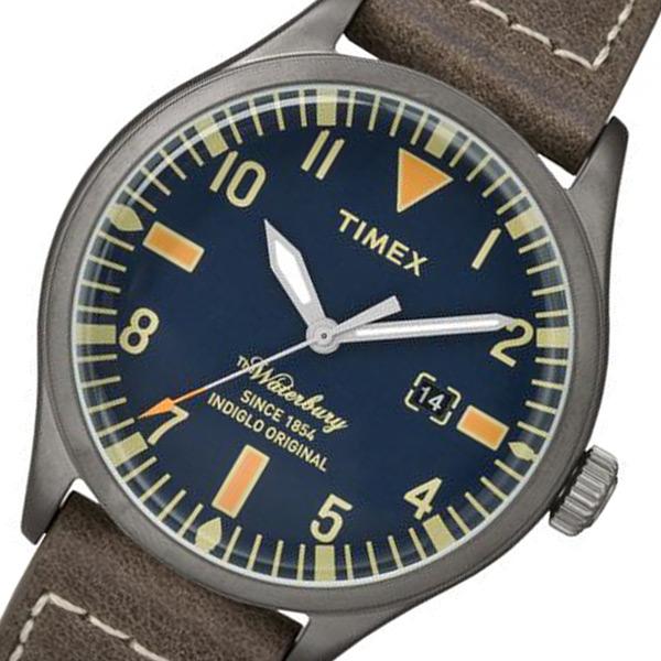 タイメックス ウォーターベリー メンズ 腕時計 TW2P83800 ネイビー 国内正規