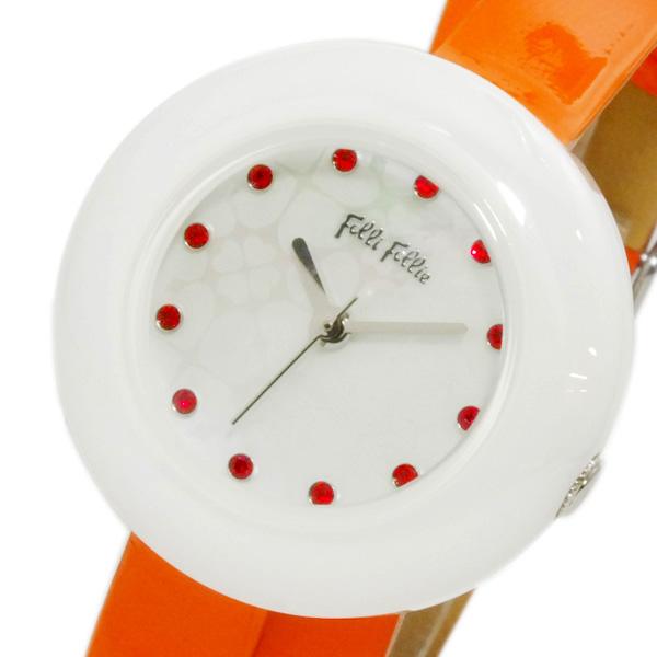フォリフォリ FOLLI FOLLIE フォーハート レディース 腕時計 WF13F030SSO-OR