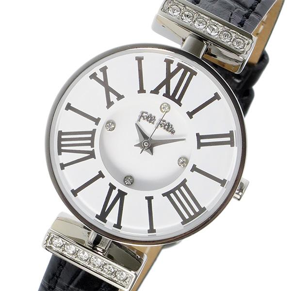フォリフォリ FOLLI FOLLIE ミニダイナスティ クオーツ レディース 腕時計 WF15A028SSW-BK ホワイト
