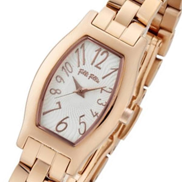 フォリフォリ デビュタント クオーツ レディース 腕時計 WF8R026BPS ゴールド