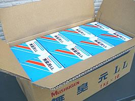 ◆業務用ケース販売 【送料無料】くみ取りトイレ用 脱臭剤 無臭元LL 1kg (入数16箱)