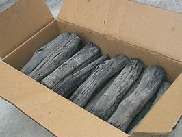 バーベキュー・火鉢・囲炉裏・燃料用 木炭国産 白炭 土佐備長炭 太丸12kg【送料無料♪】
