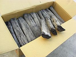 バーベキュー・調理・燃料用 木炭【送料無料♪】 土佐備長炭 上割れ12kg