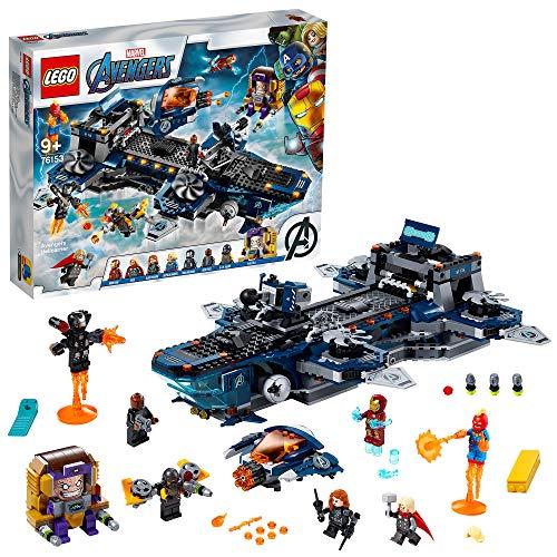 レゴ LEGO スーパー ヒーローズ 大注目 76153 アベンジャーズ ヘリキャリア 爆買い新作