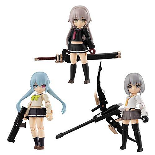 デスクトップアーミー 重兵装型女子高生 第一分隊【予約5月発売】メガハウス 3個入りBOX