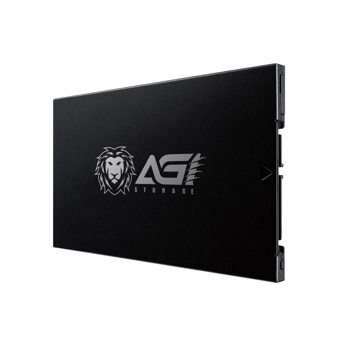 "SSD 2.5"" S-ATA 960GB AGI AGI960G17AI178 2.5inch SSD 6Gb/s INTEL 3D NAND  R=560MB/s W=525MB/s 7mm SM2258XT JANコード:4718009610040"