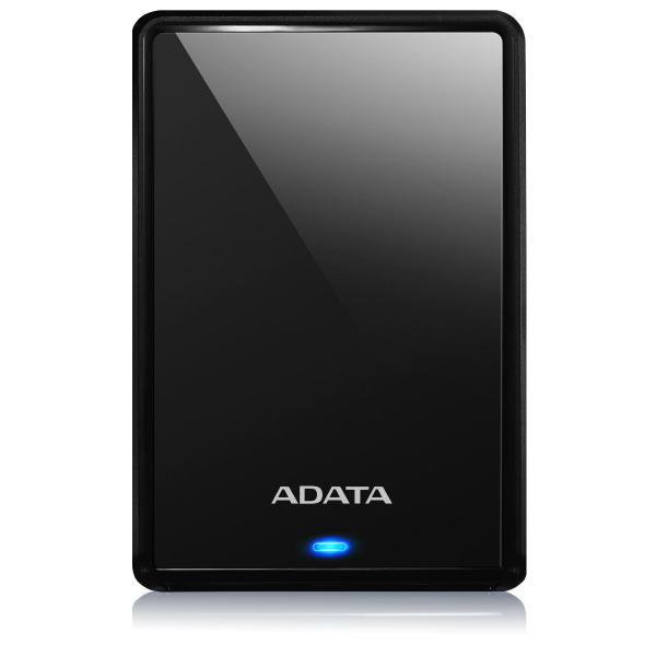 外付けHDD ポータブルHDD USB3.0&3.1 2TB ADATA AHV620S-2TU31-CBK 黒 プラスティック  115x78x11.5mm 本体152g (厚さのスリム化モデル) JANコード:4710273770451 3年保証