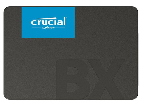 "SSD 2.5"" S-ATA 480GB CRUCIAL CT480BX500SSD1 2.5inch SSD 6Gb/s 3D NADO  R=540MB/s W=500MB/s 7mm BOX JANコード:0649528787330 1年保証"