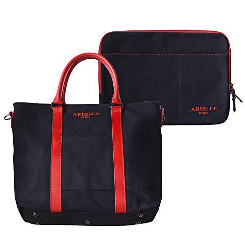 【期間限定クリスマスキャンペーン】 ARIELLE PARIS キャンパストートバッグ with インナーバッグ