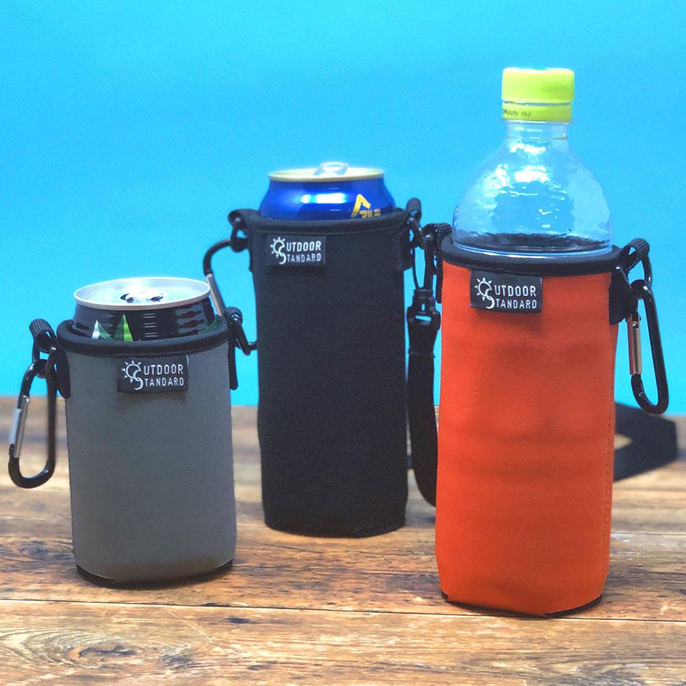 おいしい温度をキープする缶ホルダー ペットボトルやスマートフォンにも使えます お洒落 送料無料 缶ホルダー ペットボトルホルダー スマホホルダー ネオプレーン 600ml 保冷 500ml セール 登場から人気沸騰 保温 350ml