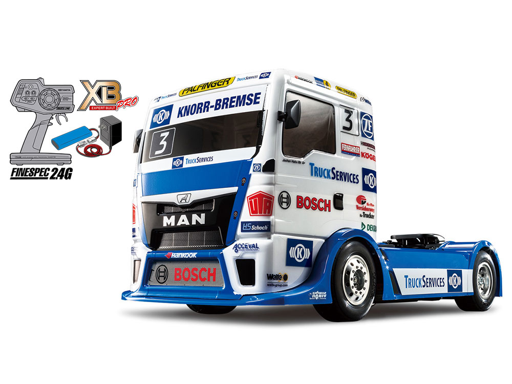 [57904] 1/14RC XB TEAM HAHN RACING MAN TGS(TT-01 TYPE-E) (4950344579044)