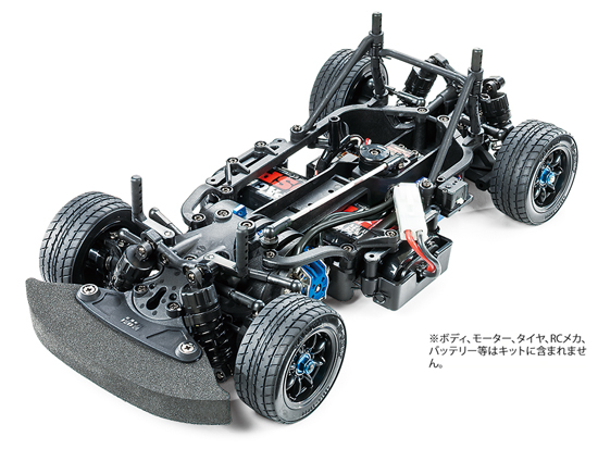 [58647] 1/10RC M-07 CONCEPT シャーシキット (JAN:4950344586479)