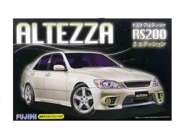 1 24フジミ プラモデルアルテッツァ [並行輸入品] Zエディション 当店は最高な サービスを提供します RS200