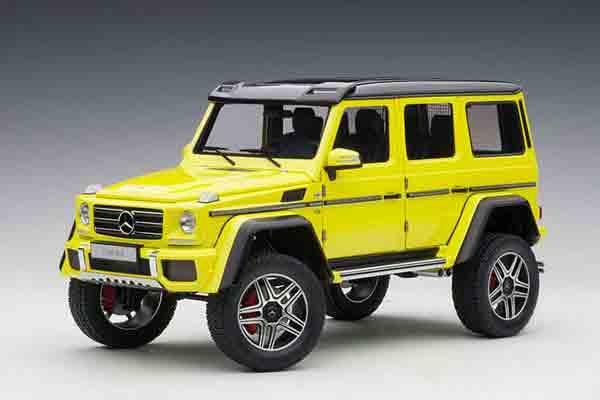 1 2020モデル 18 オートアートメルセデス ベンツ 4X4sup2; G500 黄 豊富な品
