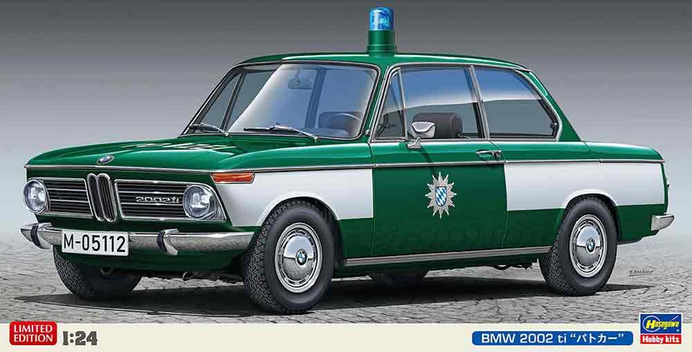 1 24 送料無料新品 ハセガワ ついに入荷 プラモデルBMW パトカー ti 2002