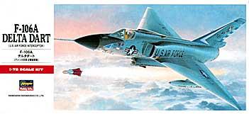 1 72 ハセガワ ギフ_包装 プラモデルC帯 F-106A 割引 デルタダート